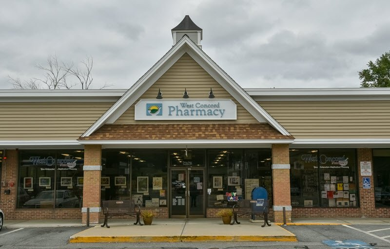 West Concord Pharmacy, Concord, MA, local prescription pharmacy serving the communities of Concord, Bedford, Lexington, Lincoln, Sudbury and nearby areas.