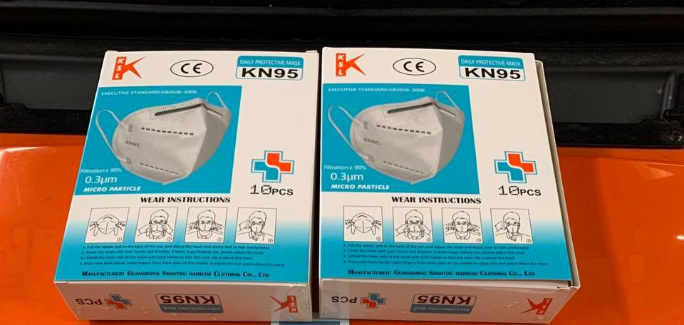 West Concord Pharmacy donates KN95 masks to the Concord Fire Department