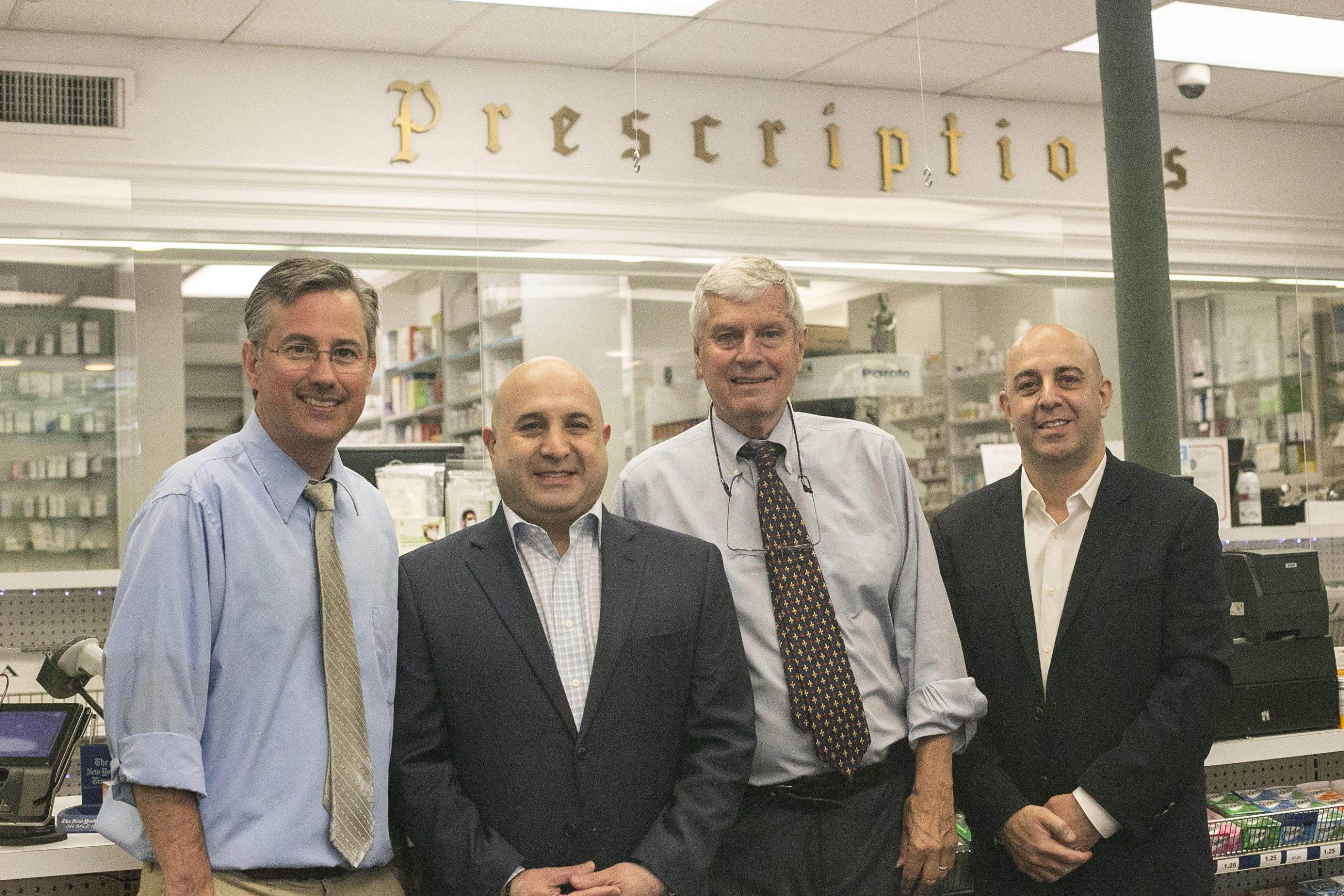 new and former owners of Theatre Pharmacy
