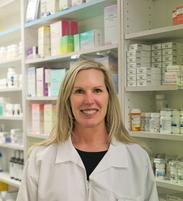 Kathie McDonough, Pharmacist