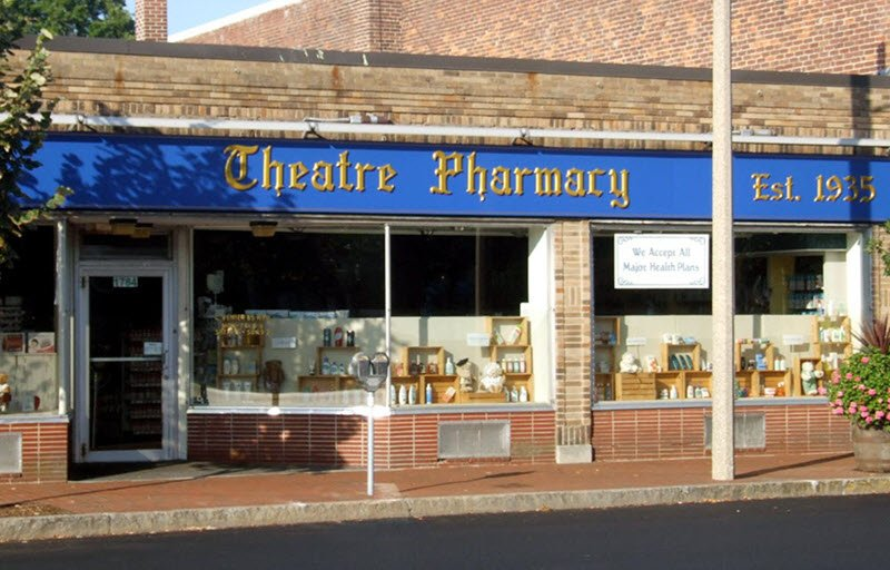 Theatre Pharmacy storefront