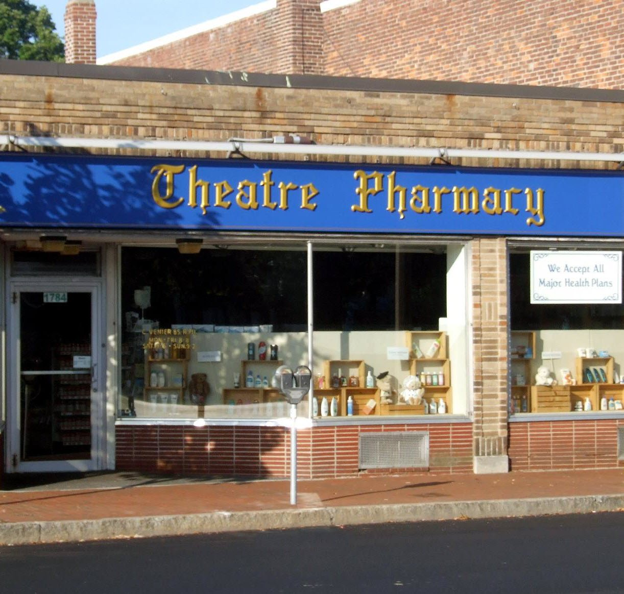 Theatre Pharmacy storefront