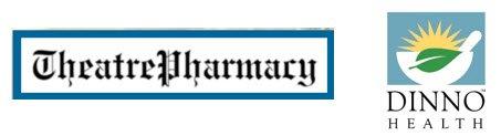Theatre Pharmacy and Dinno Health Logos