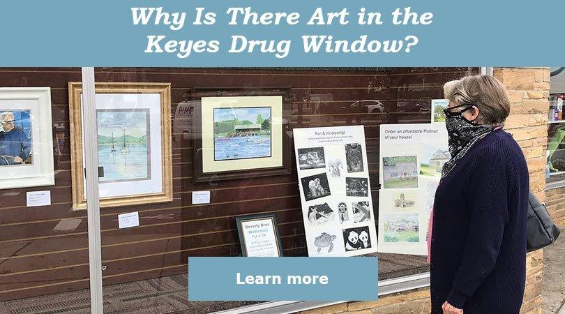 Newton Art Association Exhibits at Keyes Drug
