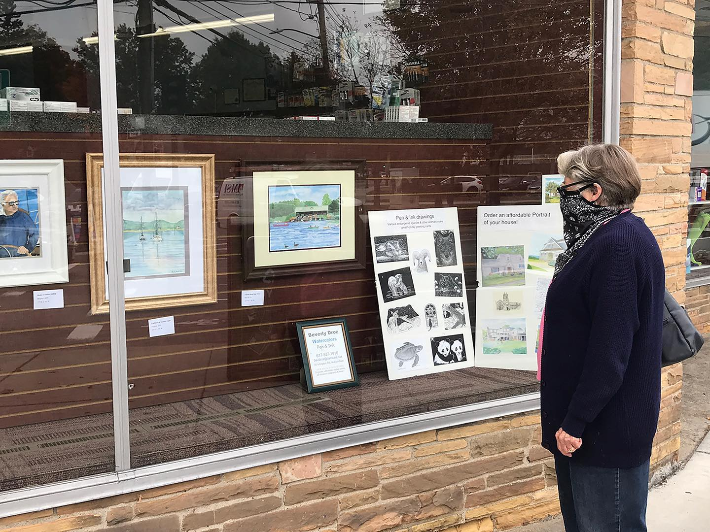 Newton Art Association Exhibits at Keyes Drug