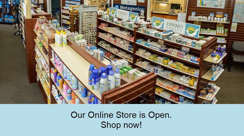 Keyes Drug online store is open